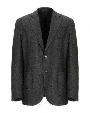 Пиджак EDDY & BROS. Цвет: темно-коричневый