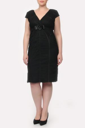 Платье GOLD. Цвет: черный
