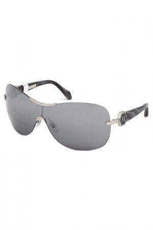 Солнцезащитные очки Carolina herrera NEW YORK. Цвет: серебряный