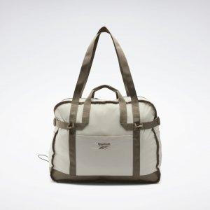 Спортивная сумка Classics Tailored Packable Reebok. Цвет: sand stone