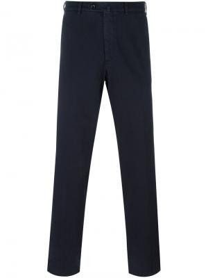 Классические брюки чинос Loro Piana. Цвет: синий