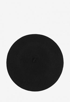 Берет Le Beret Francais CLASSIQUE. Цвет: черный