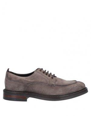 Обувь на шнурках MFW COLLECTION. Цвет: какао