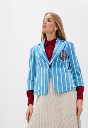 Пиджак Vivienne Westwood Anglomania. Цвет: голубой