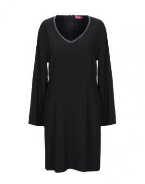 Короткое платье ÉCLÀ. Цвет: черный