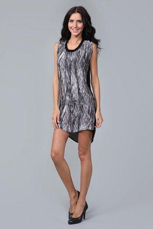 Платье Insideout. Цвет: черный