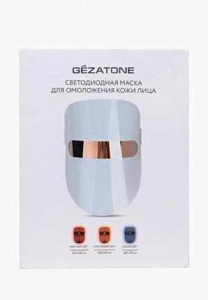 Массажер для лица Gezatone m1020 (LED маска). Цвет: белый