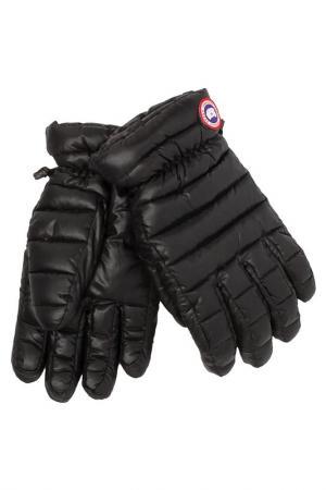 Перчатки Canada Goose. Цвет: черный