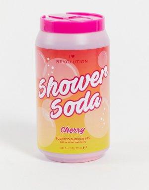 Гель для душа с ароматом вишневого лимонада – Tasty Shower Soda Cherry-Бесцветный I Heart Revolution