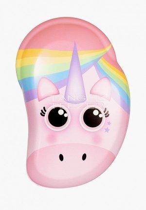 Расческа Tangle Teezer The Original Mini Rainbow Unicorn. Цвет: розовый
