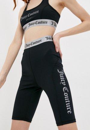 Велосипедки Juicy Couture. Цвет: черный