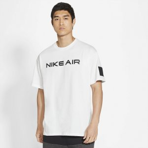 Air Mens Hybrid T-Shirt Nike. Цвет: белый