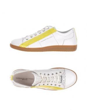 Низкие кеды и кроссовки ALESSANDRO DELL'ACQUA. Цвет: белый