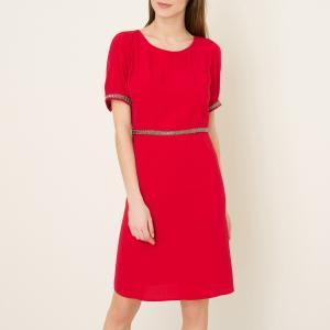 Платье YOUTH BA&SH. Цвет: красный