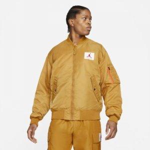 Двусторонняя куртка-бомбер MA-1 Jordan Flight - Желтый
