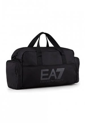Спортивная сумка EA7. Цвет: черный