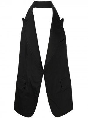 Жилет с открытой спиной Comme Des Garçons Shirt. Цвет: черный