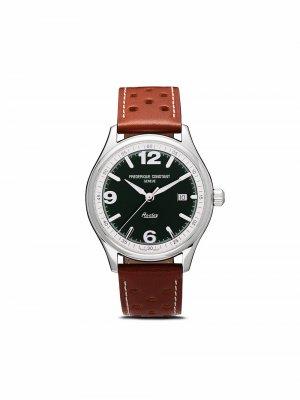 Наручные часы Vintage Healey Automatic 40 мм ограниченной серии Frédérique Constant. Цвет: зеленый