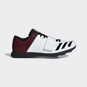 Шиповки для легкой атлетики adizero tj/pv Performance adidas. Цвет: красный