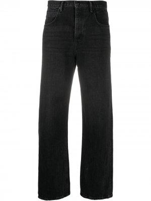 Широкие джинсы Skater Alexander Wang. Цвет: серый