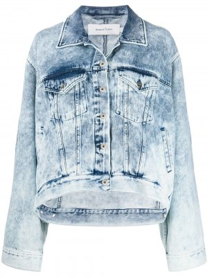 MarquesAlmeida джинсовая куртка Marques'Almeida. Цвет: синий