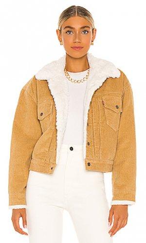 Куртка new heritage LEVIS LEVI'S. Цвет: цвет загара