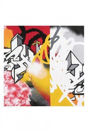 Картина «Урбанистическая мозаика 01», 2020 Evgeny Ches. Цвет: multicolor