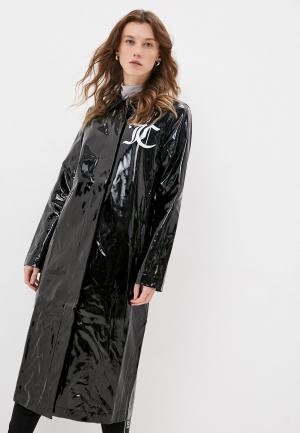 Плащ Juicy Couture VIRGINIA COAT. Цвет: черный