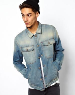 Джинсовая куртка Porter Vivienne Westwood Anglomania. Цвет: indigo felpa