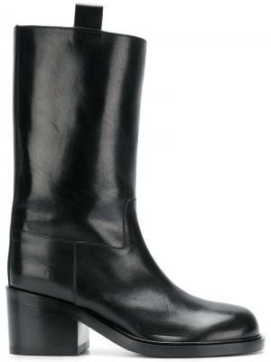 Pull-on midi boots A.F.Vandevorst. Цвет: черный