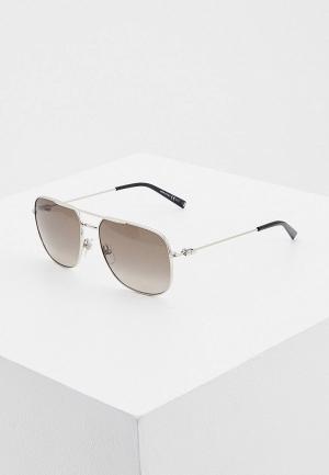 Очки солнцезащитные Givenchy GV 7195/S 010. Цвет: серебряный
