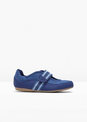 Спортивные туфли bonprix. Цвет: синий