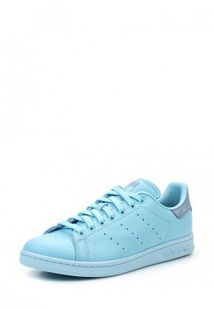 Кеды adidas Originals AD093AMUNQ99. Цвет: голубой