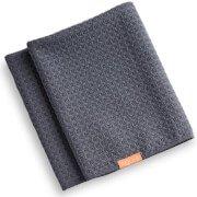 Вафельное полотенце для сушки волос Hair Towel Waffle Luxe Moody Gray Aquis
