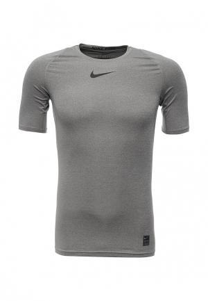Футболка компрессионная Nike MENS PRO TOP. Цвет: серый