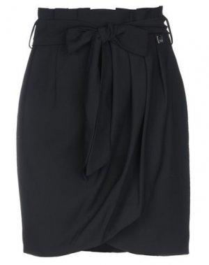 Мини-юбка BSB. Цвет: черный