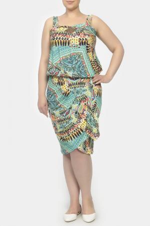 Платье Giani Forte. Цвет: мультицвет