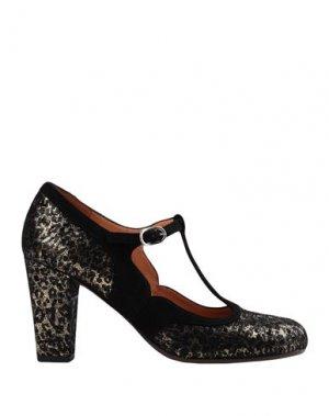 Туфли CHIE MIHARA. Цвет: черный