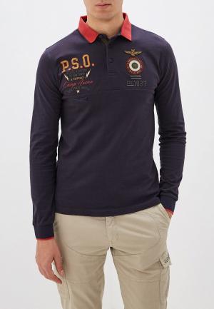 Поло Aeronautica Militare. Цвет: серый