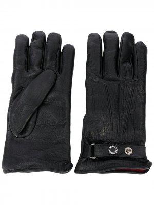 Однотонные перчатки Alexander McQueen. Цвет: черный