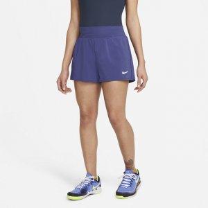 Женские теннисные шорты Court Dri-FIT Victory - Пурпурный Nike