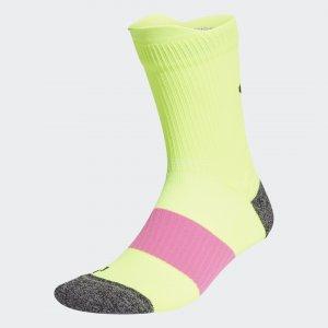 Носки Running Ultralight Performance adidas. Цвет: черный