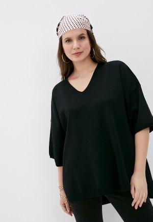 Пуловер Снежная Королева. Цвет: черный