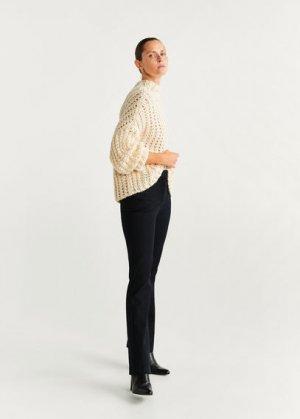 Расклешенные брюки из хлопка - Samantha Mango. Цвет: черный