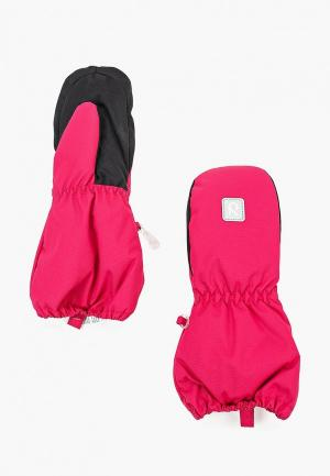 Варежки Reima Nouto. Цвет: розовый