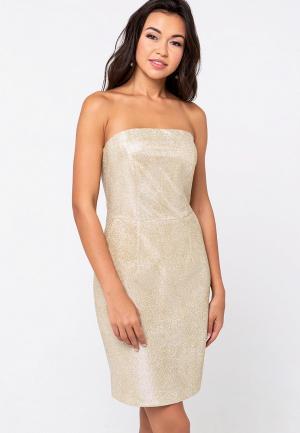 Платье Eva. Цвет: золотой