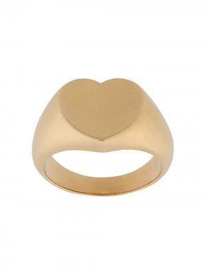 Массивное кольцо A.P.C.. Цвет: золотистый
