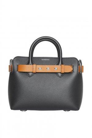 Небольшая черная сумка Triple Stud Belt Burberry. Цвет: черный