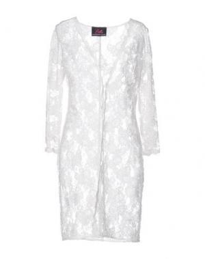 Легкое пальто BETTA CONTEMPORARY COUTURE. Цвет: белый