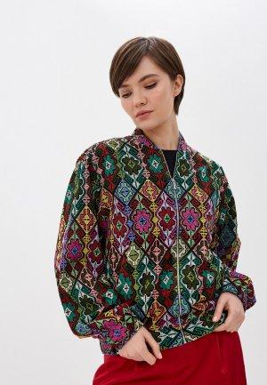 Куртка Terekhov Girl. Цвет: разноцветный